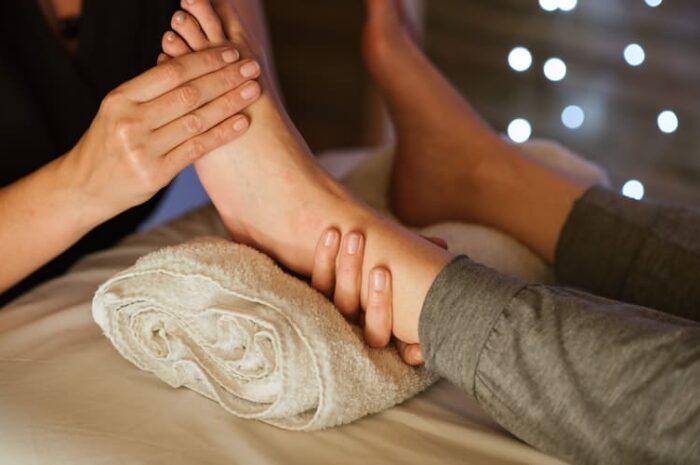 O Cuidado com as Pernas e os Pés durante a gravidez